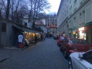 eine Straße im jüdischen Viertel