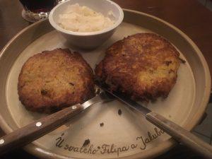 Tschechische Kartoffelpuffer